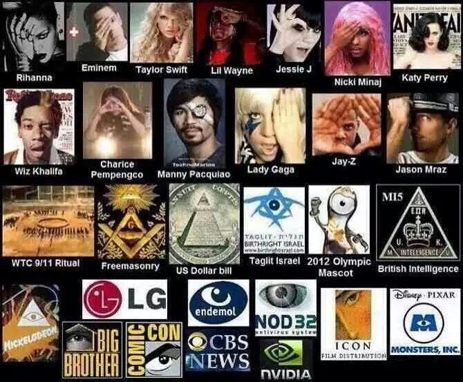 Illuminati Symbolism In Music And Sports Psalms Illuminati And Lord