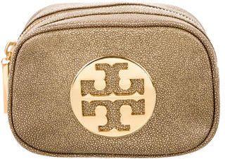 Tory Burch Emblem Cosmetic Bag
