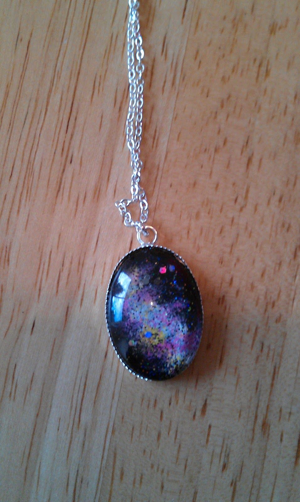 Galaxy Necklace Ella Really Wants An Amulet Wonder If This Craft Earrings Recycled Circuit Board And Copper Red Glass Beads Geekery Will Be Close Enough