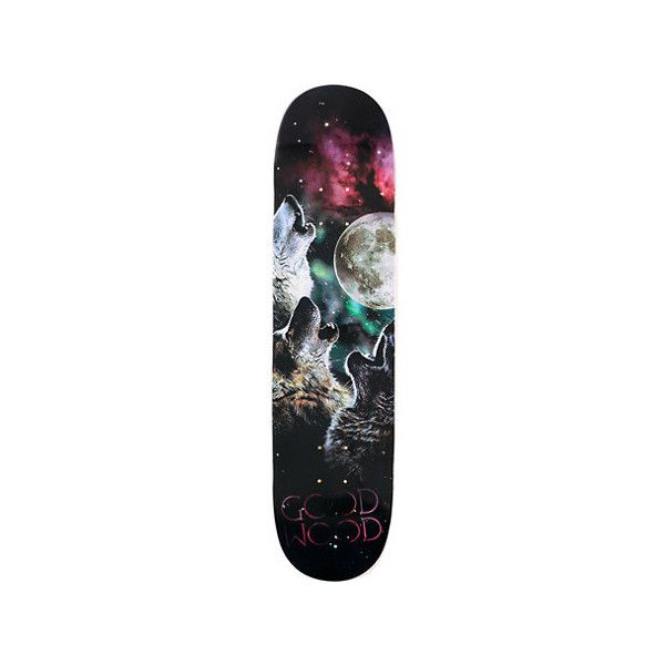 Goodwood Three Wolf Moon 7 75 Skate Deck At Zumiez Pdp Three Wolf Moon Wolf Moon Skate Decks