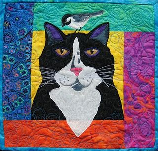 """Kitty-Kitty Chickadee"" quilt pattern by Cindy Shake (Alaska)"