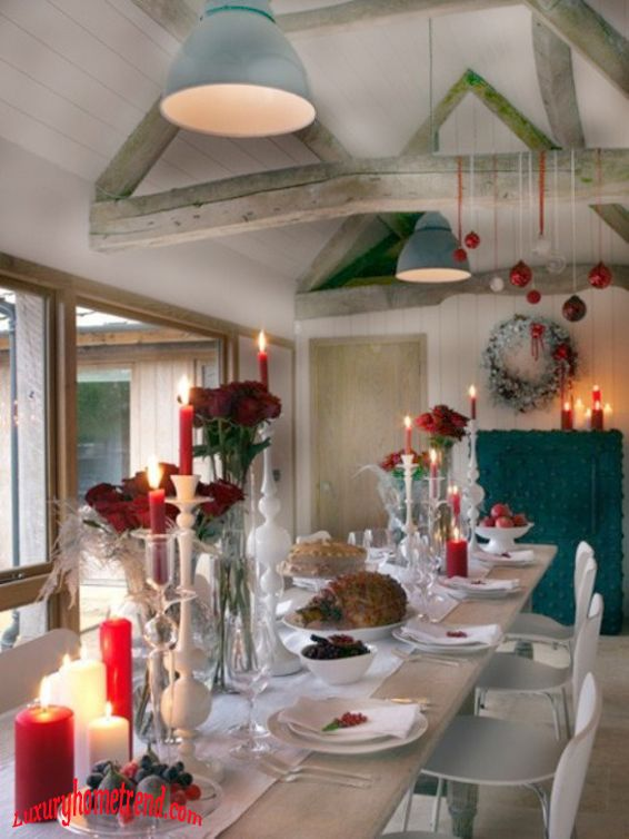 cool christmas table decorations Christmas Decoration Ideas
