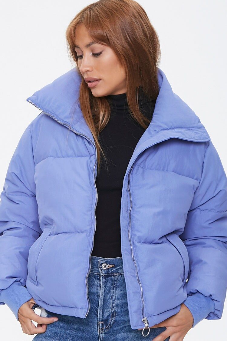 Pull Ring Puffer Jacket Forever 21 Puffer Jackets Jackets Puffer [ 1125 x 750 Pixel ]