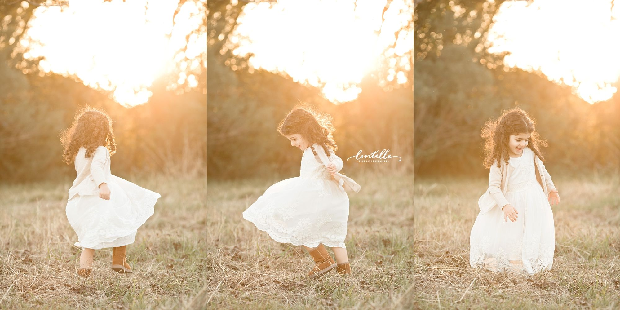 Houston family field session by Lentille Photography