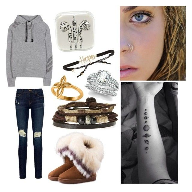 """Untitled #112"" by notrebeccanotney on Polyvore featuring Frame Denim, Y-3, Allurez, Tai, women's clothing, women's fashion, women, female, woman and misses"