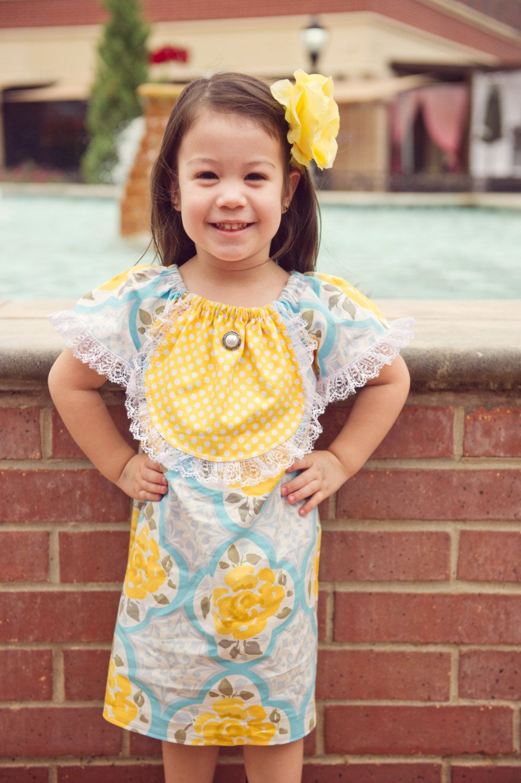 Vintage Stitches Tea Party Elizabeth Dress Easter Dress