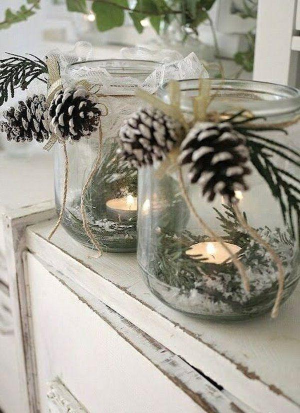 Bastelideen zu weihnachten dekorieren sie dezent ihr zuhause xmas pinterest - Wann weihnachtlich dekorieren ...
