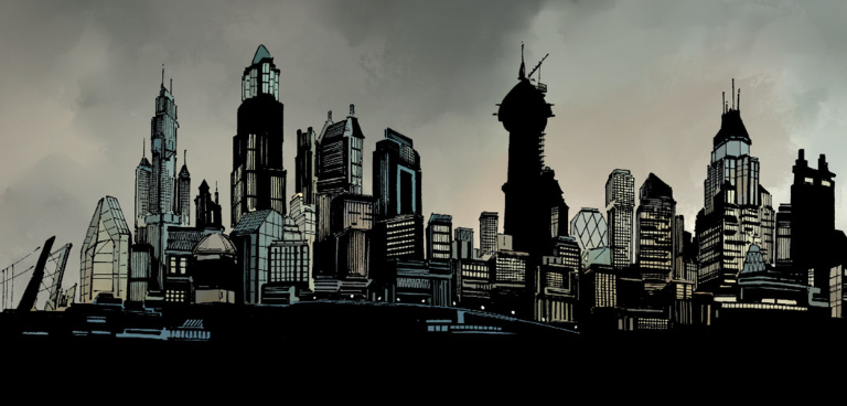 Gotham City Is Under The Protection Of Batman And His Proteges From The Criminally Insane Supervillains Gangs And Mobs That Gotham City Superhero City Gotham