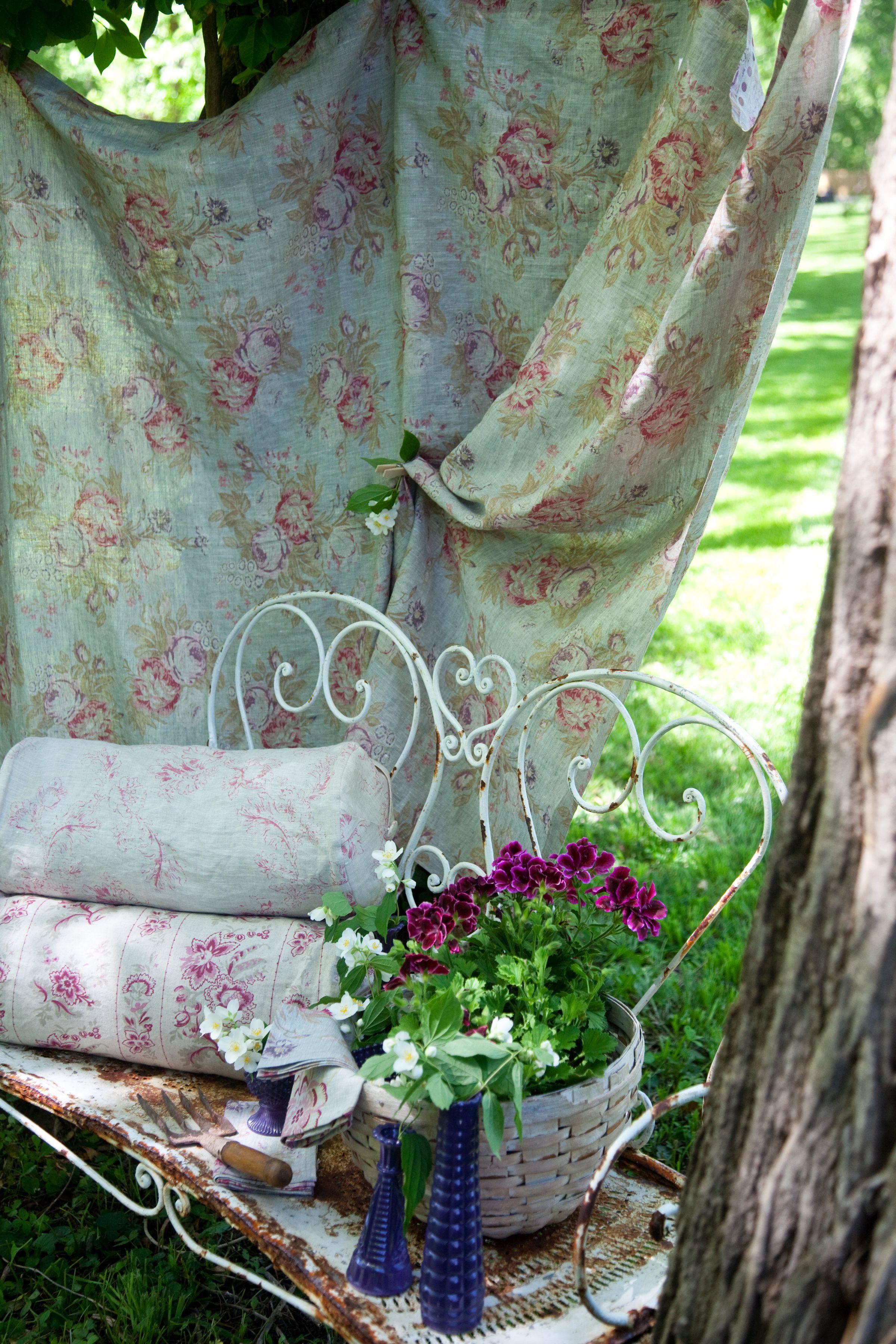 Raised In Cotton Bohemian garden, Vintage roses, My