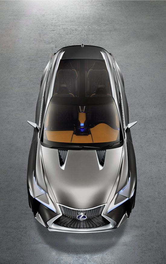 The Lexus LF-NX concept car puts other SUVs to shame