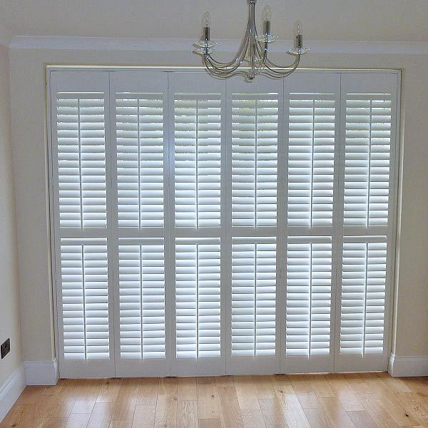 Portrait of Shutters for French Doors: Practical Way to Dress Your ...
