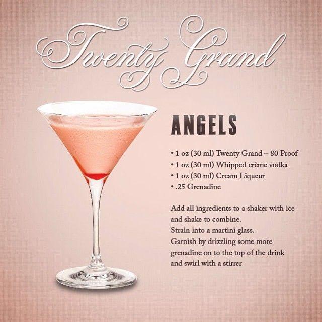 """Mixology: """"Angels"""" #20GrandVodka"""