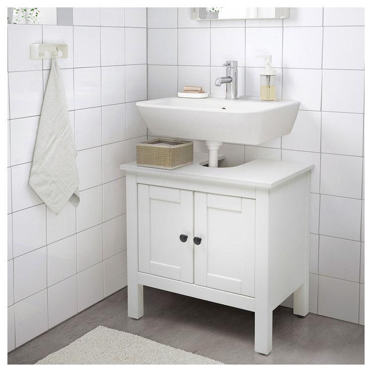 Hemnes Waschbeckenunterschrank 2 Turen Weiss Ikea Deutschland In 2020 Waschbeckenunterschrank Ikea Waschbeckenunterschrank Bad Inspiration