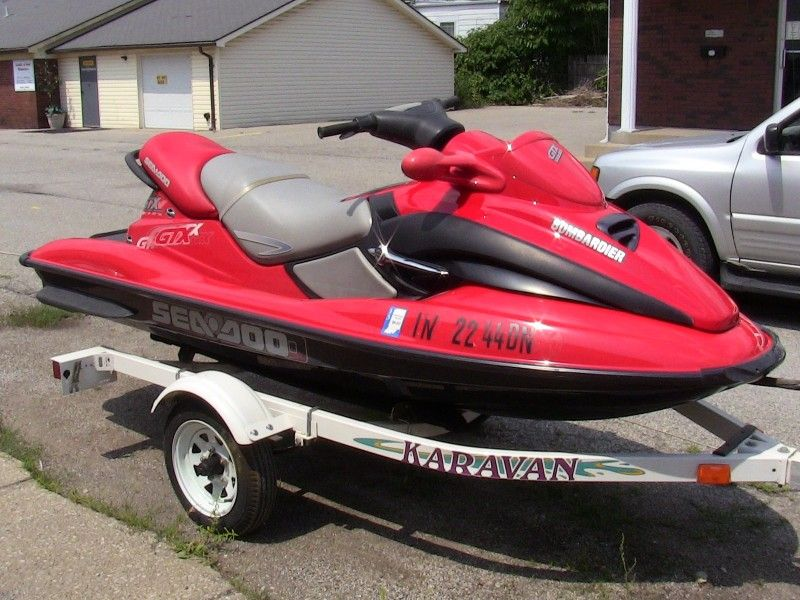 2001 seadoo gtx 2 seater jet ski needs motor for sale