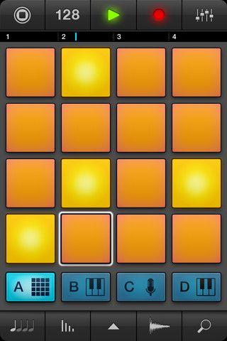 iMaschine, the groove sketch pad. music app Music app, App