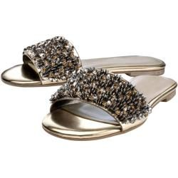 Photo of Wenz, mules with sparkling stones, gold Wenz