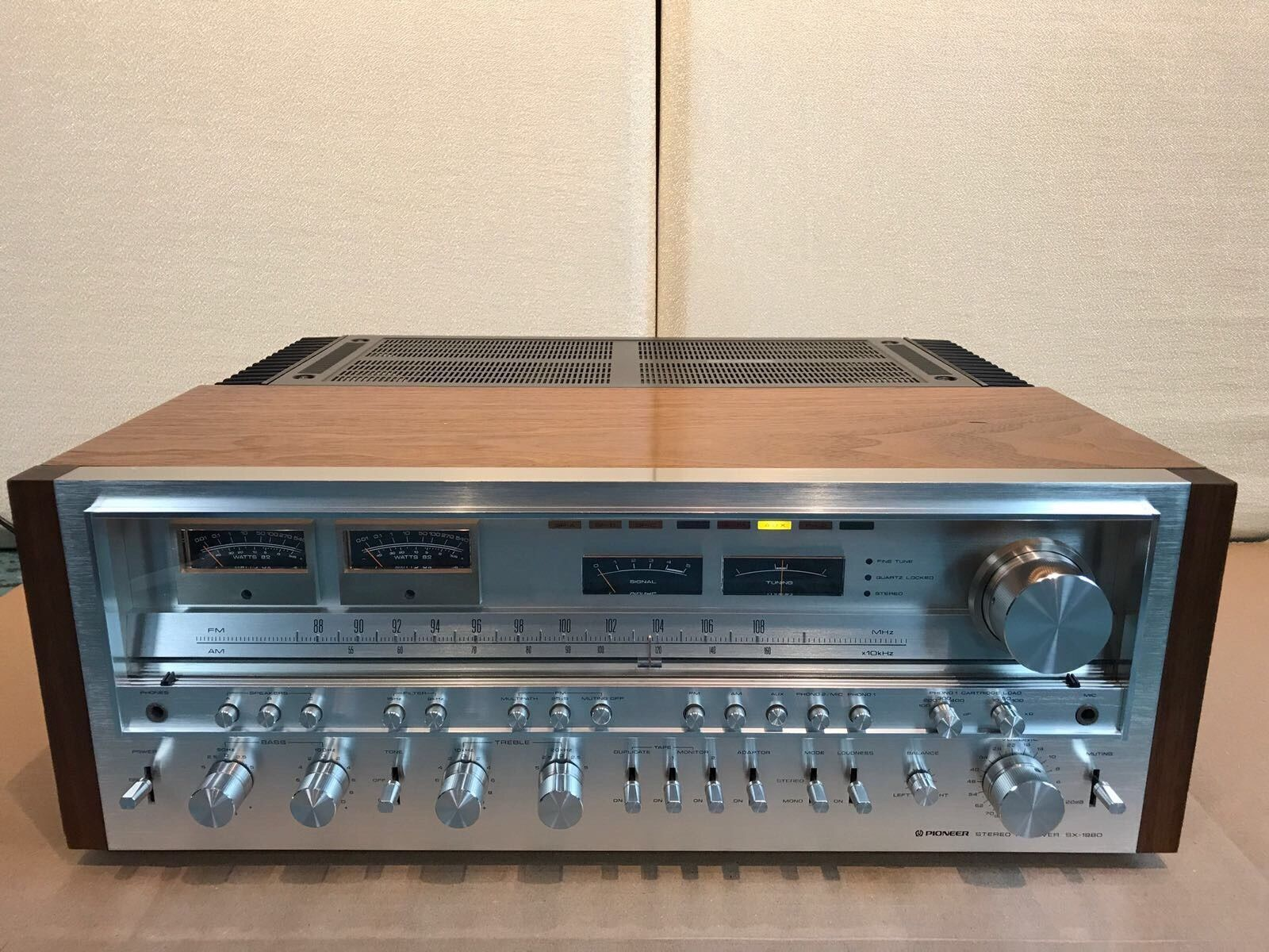 All Original Pioneer SX-1980 Stereo Receiver Collector