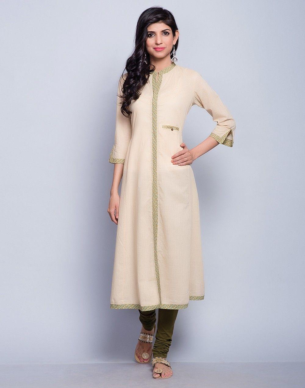 long Kurta ~ Natural cotton ~ l4R3avzlo0