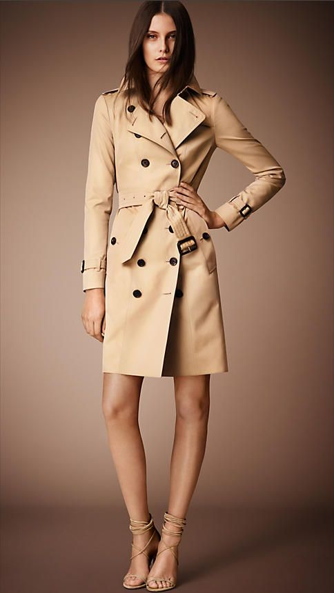 2e125c10ca161 Miel The Sandringham – Trench-coat Heritage long - Image 1 Vogue Femme,  Trench