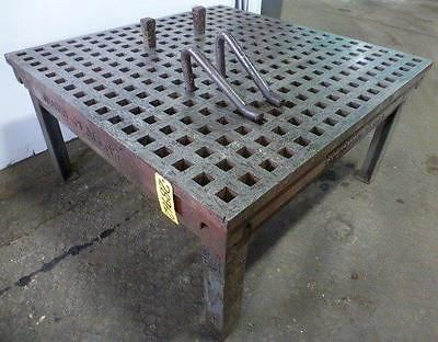 Acorn Welding Table 5 X 5 1 3 4 Square Holes 28962