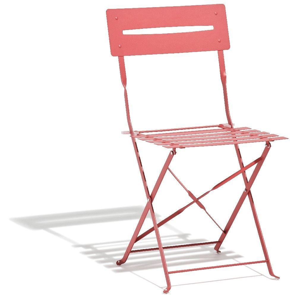 Chaise De Jardin Rio Pliante Metal Rose Chaise De Jardin Parasol Rectangulaire Chaise Exterieur