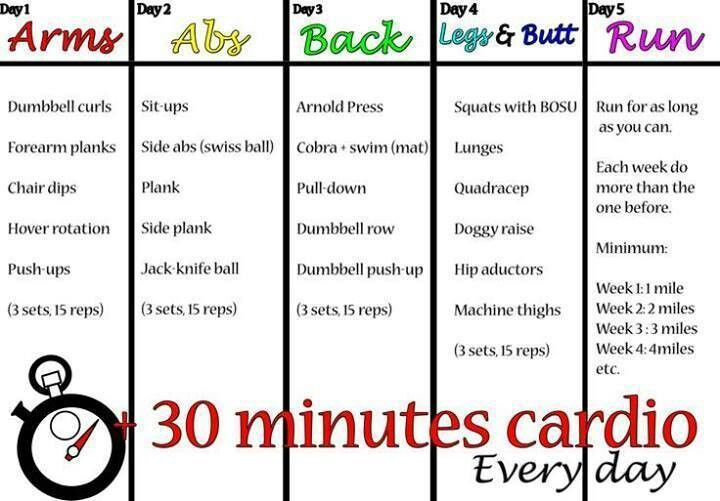 Remember to do 30 mins of exercise every day