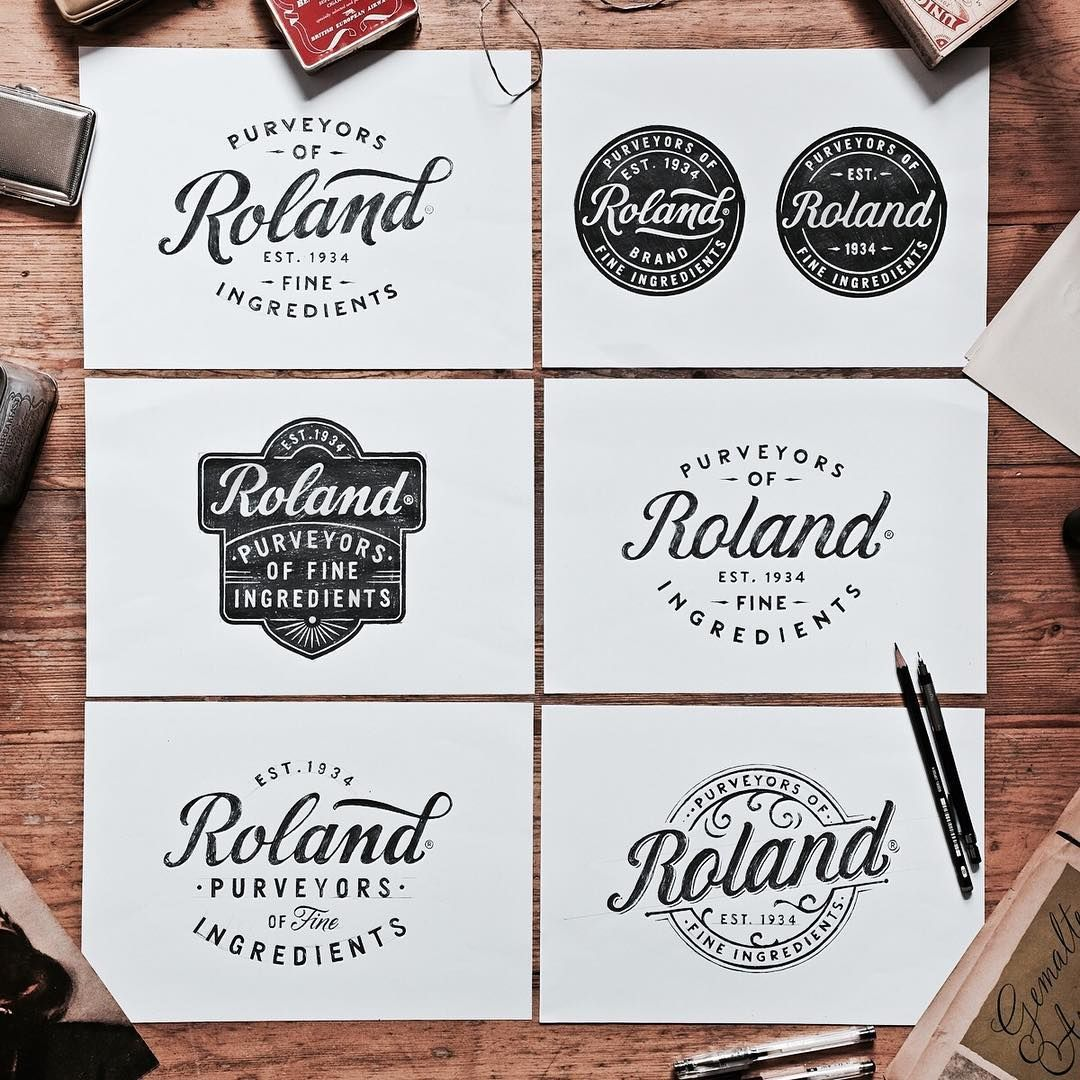 Some more sketches for @rolandfoods ! ✏️