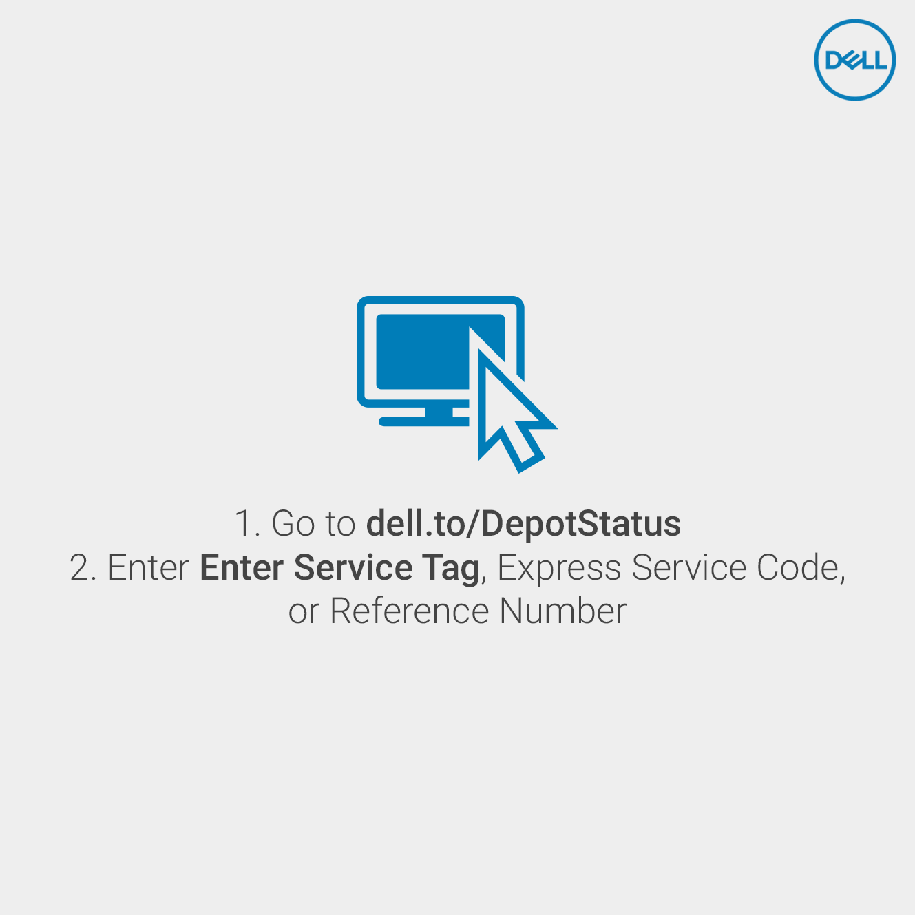 How to check your #Dell warranty depot or collect & return service repair  from any
