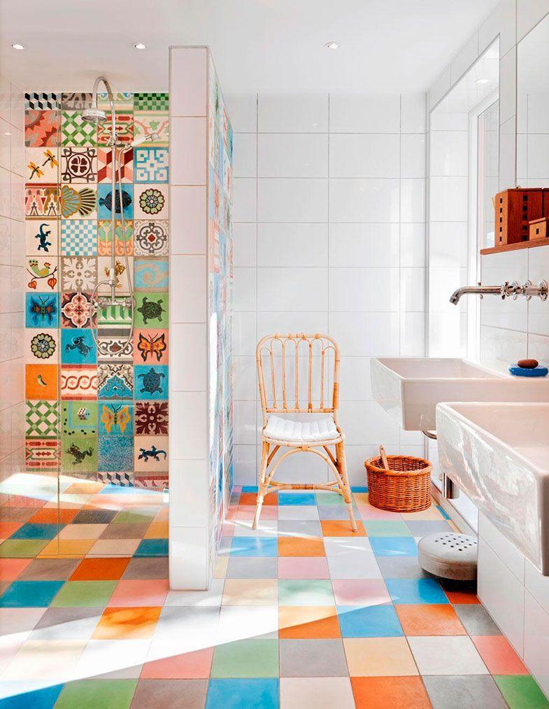 Cerámicas con nuevos colores y patrones geométricos cambian la ...
