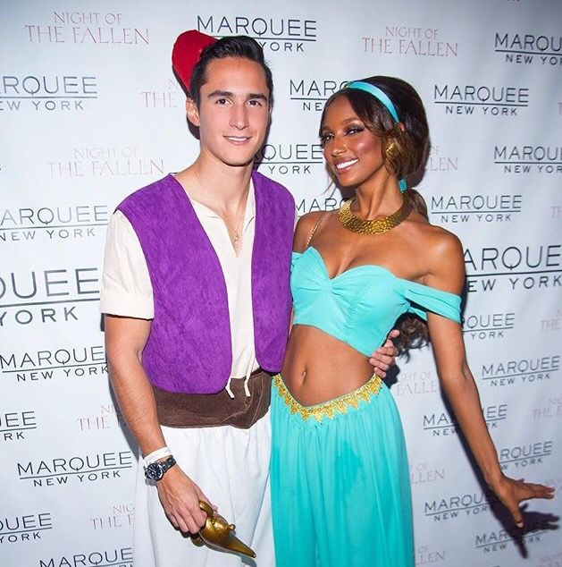 Jasmine Tookes and Juan David kouples Pinterest Jasmine tookes - celebrity couples halloween costume ideas