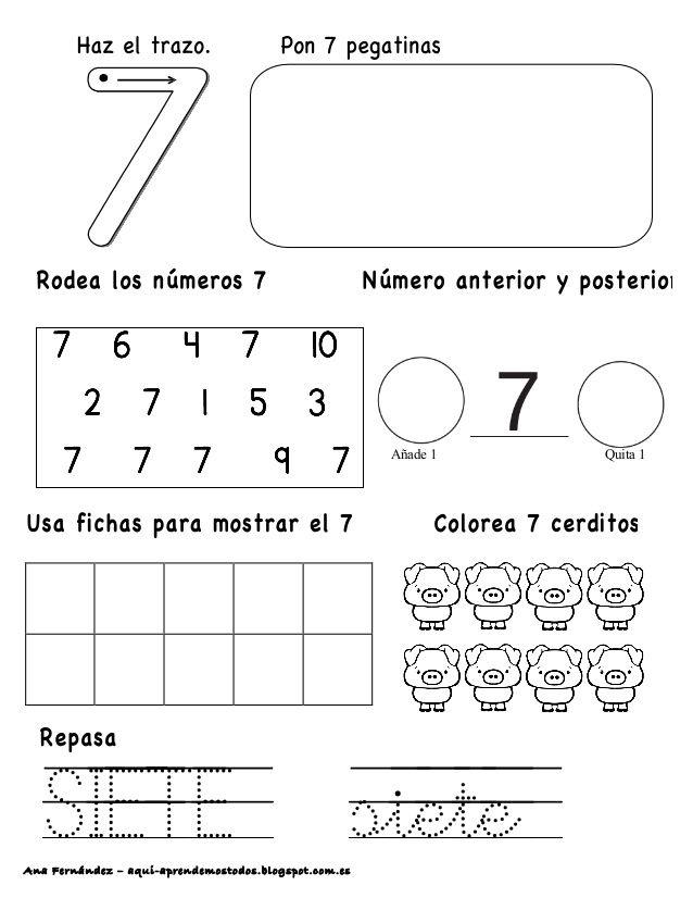 Ana Fernández – aqui-aprendemostodos.blogspot.com.es SIETE siete ...
