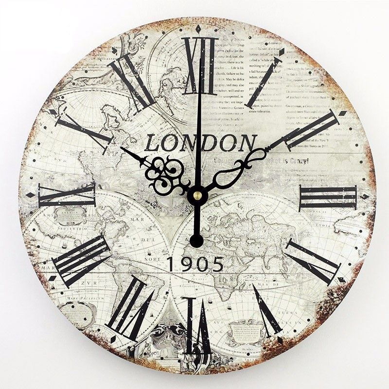 World clock wall decor migrant resource network world map wall clock clocks pinterest and gumiabroncs Images