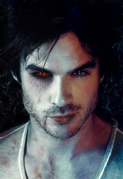 De diarios de un vampiro Damon Salvatore Vampir@s Pinterest