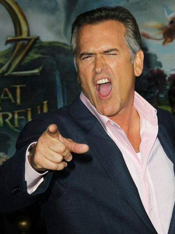 Bruce Campbell - he gets even better with age