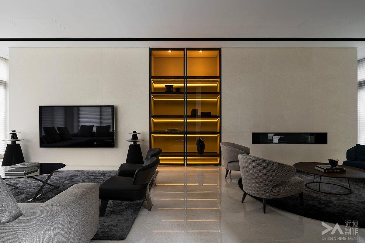 pingl par c m sur d coration salon salon pour petit espace decoration salon et meuble tv. Black Bedroom Furniture Sets. Home Design Ideas