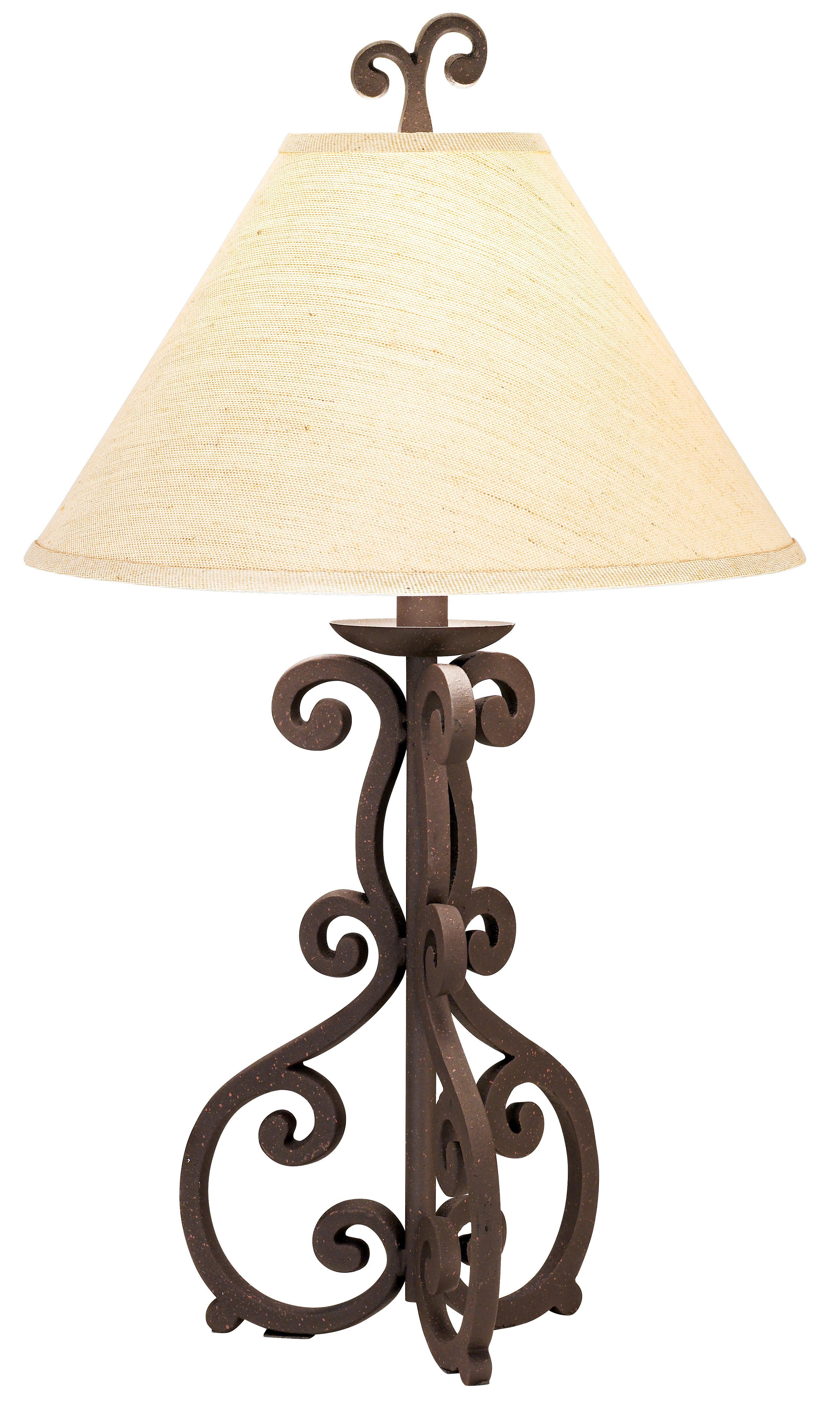 High Iron Scroll Table Lamp 51410 Lamps Plus Lamp Table Lamp Iron Lamp