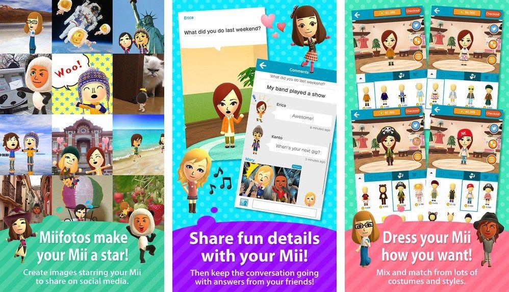 Nintendo's Miitomo first app designed for iOS devices