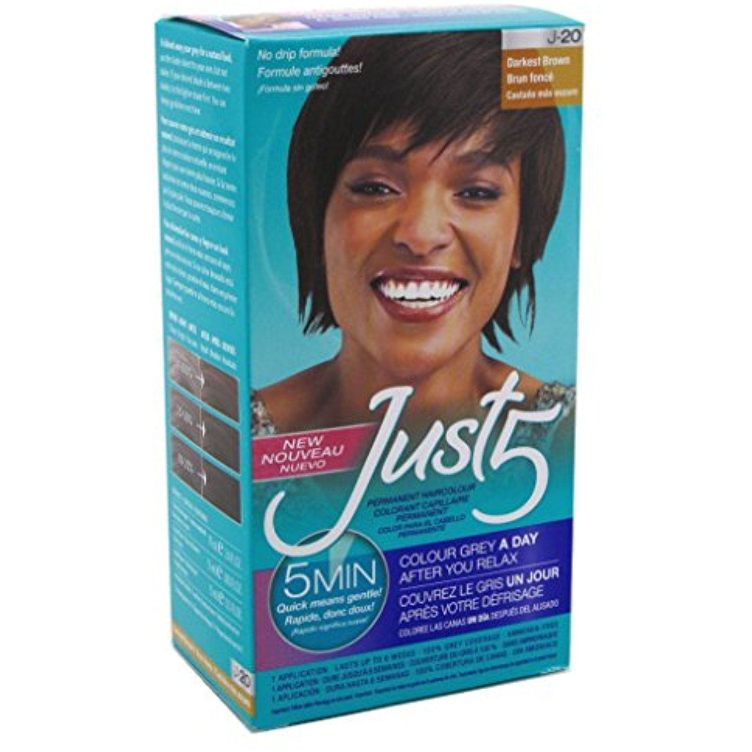 Just color natural darkest brown pack read more at the