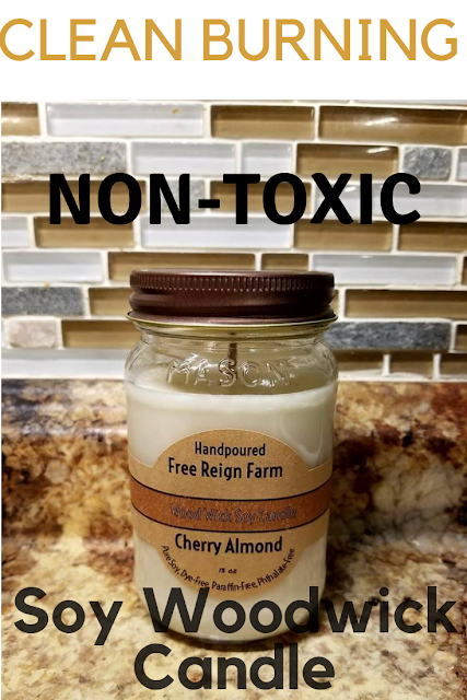 Free Reign Farm Soy Candles Contains No Toxins Soy