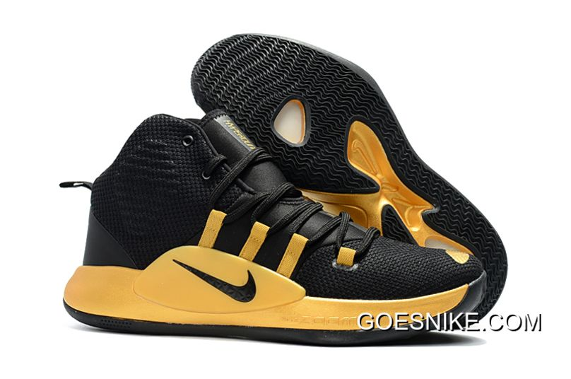 d81545addfb 2019 的 Nike Hyperdunk X 2018 Black Yellow 主题