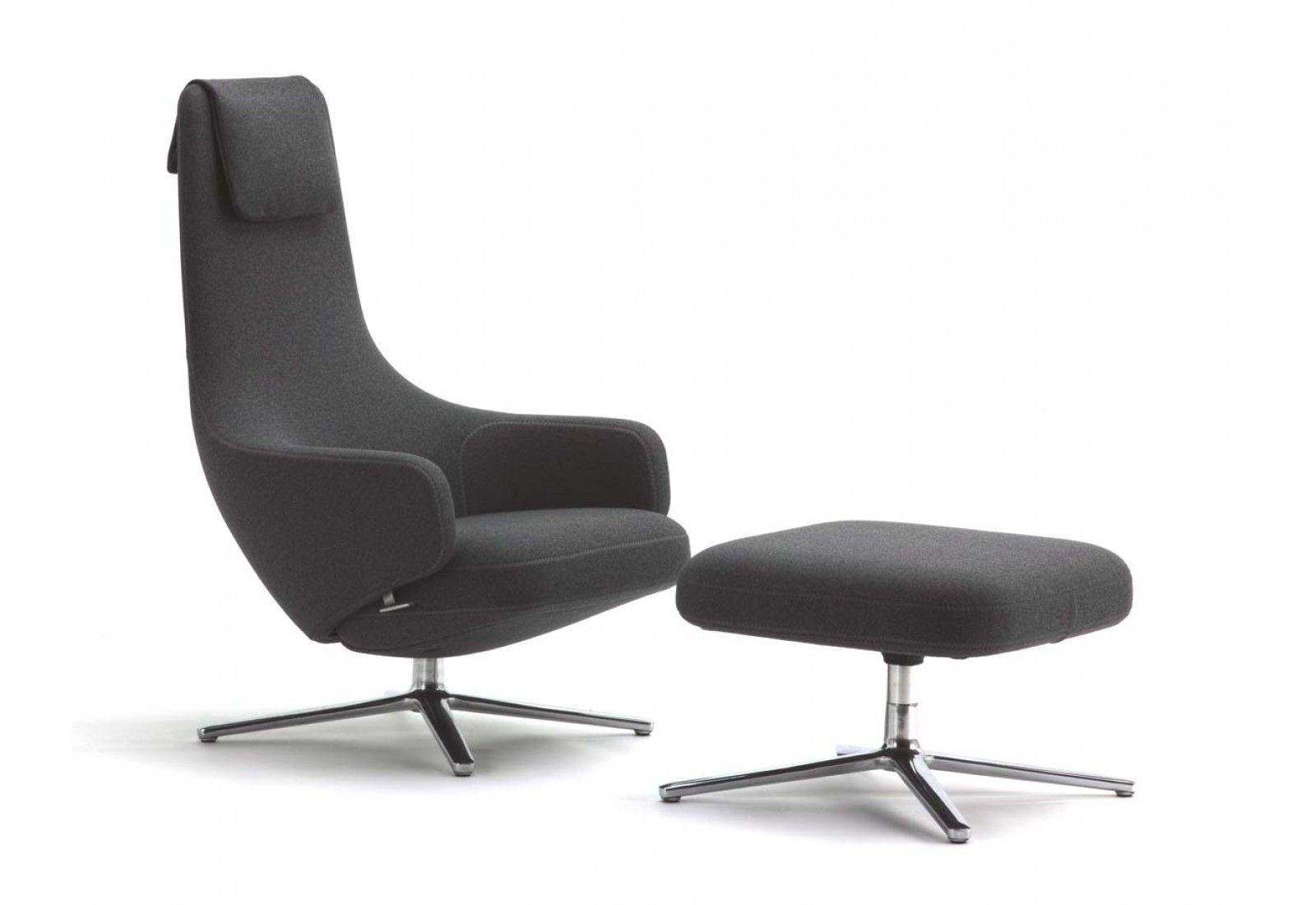 Vitra sessel und hocker repos 137 pinterest sessel for Vitra design sessel