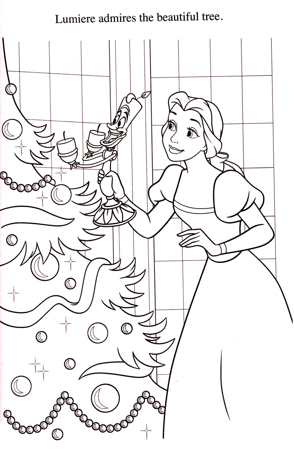 Disney Coloring Pages | Beauty & The Beast | Pinterest | Colorear ...