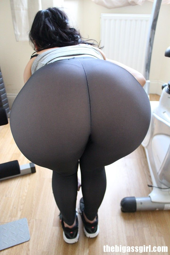 Big ass on leggings