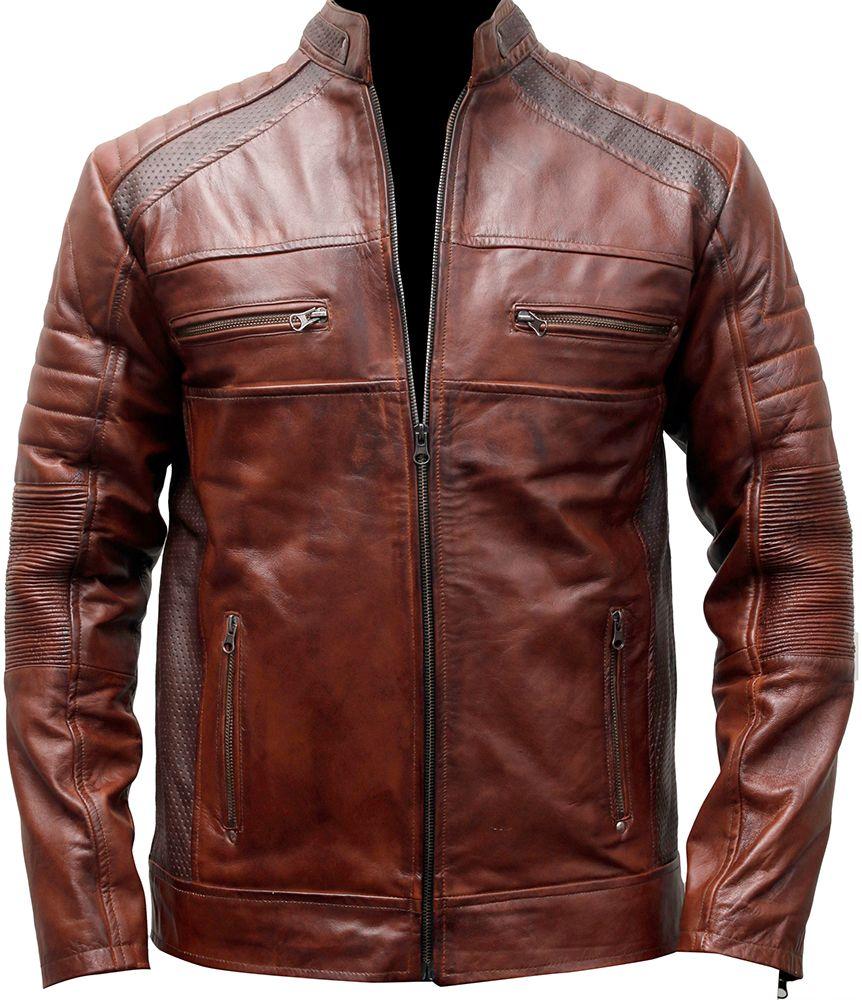 Pin de Anthony f Costagliola en biker leather jacket