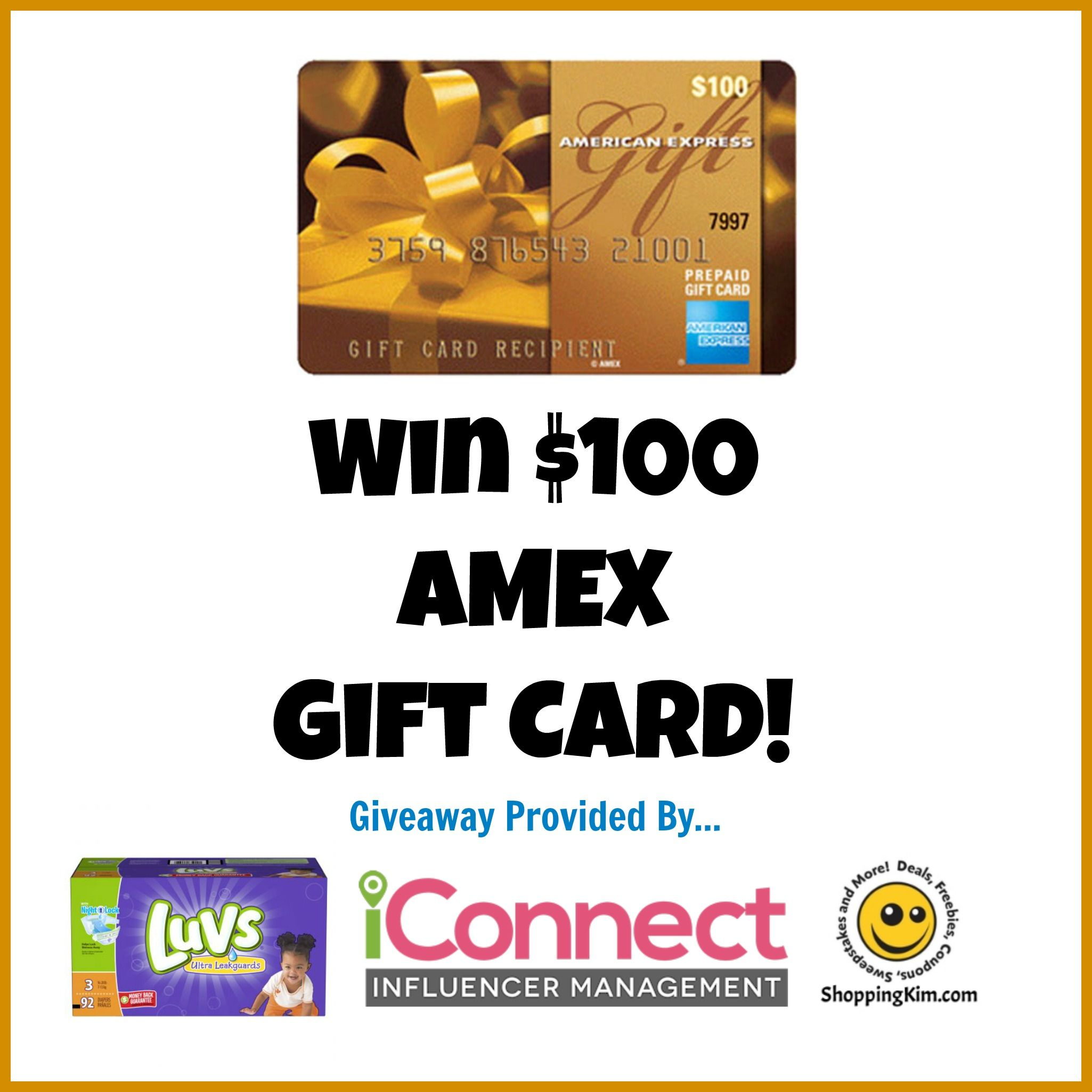 #SharetheLuv @Luvs Diapers $2 Coupon + $100 AMEX Gift Card Giveaway #ad