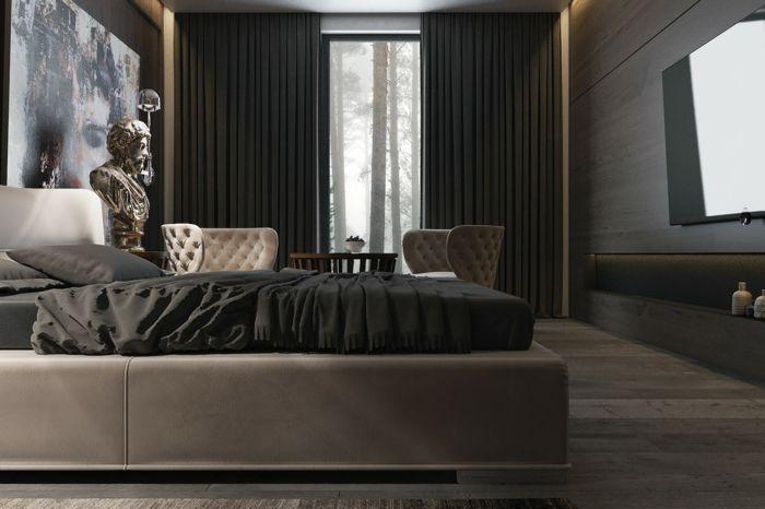 Pflanzen schlafzimmer ~ Schlafzimmer ideen ausgefallene schlafzimmermöbel hocher und