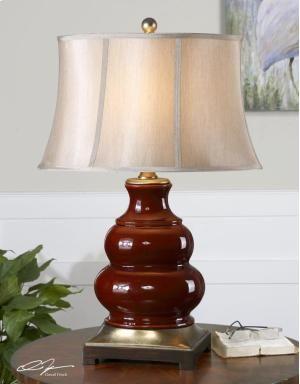 Lake Oswego Or Uttermost Lighting Red Table Lamp