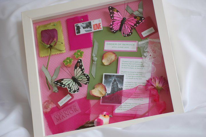 0f4d559393e Bristol Vintage Wedding Fair  Erika Glanville Bespoke Memory Frames ...