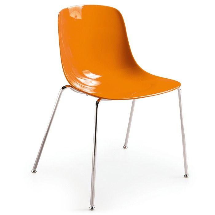 Stuhl - Pure Loop 2er Set - Orange | Online kaufen bei Segmüller