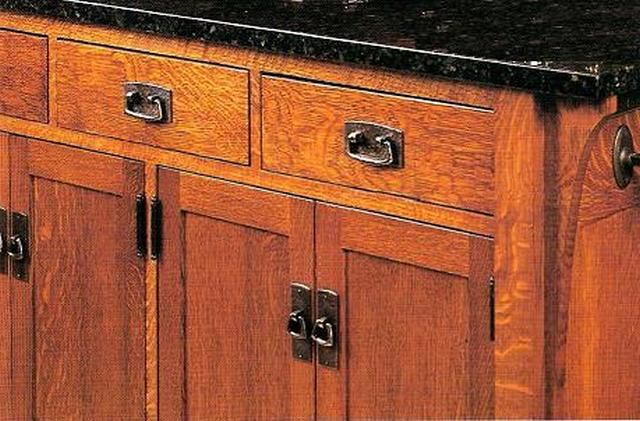 Delicieux Mission Style Cabinets Hardware